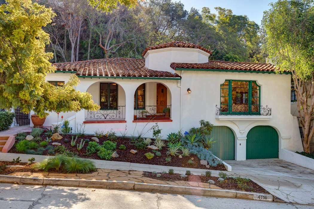 Los Feliz Spanish Revival with Character