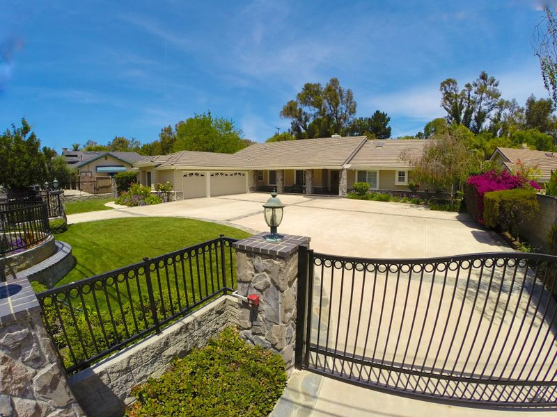 Gated Single Story on Approx. 0.5-Acre