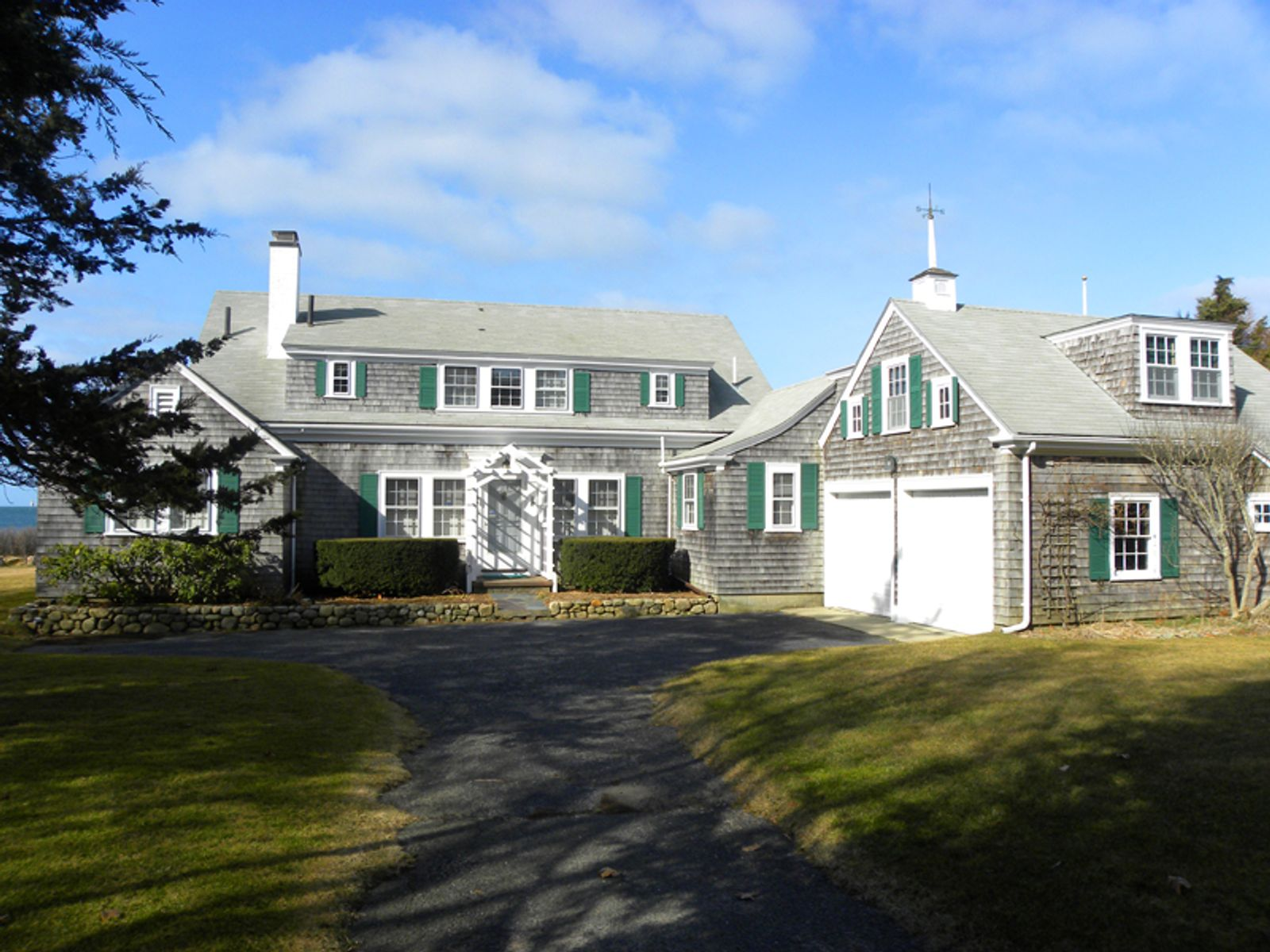Buzzards Bay Oceanfront Cape, West Falmouth MA Single Family Home - Cape Cod Real Estate