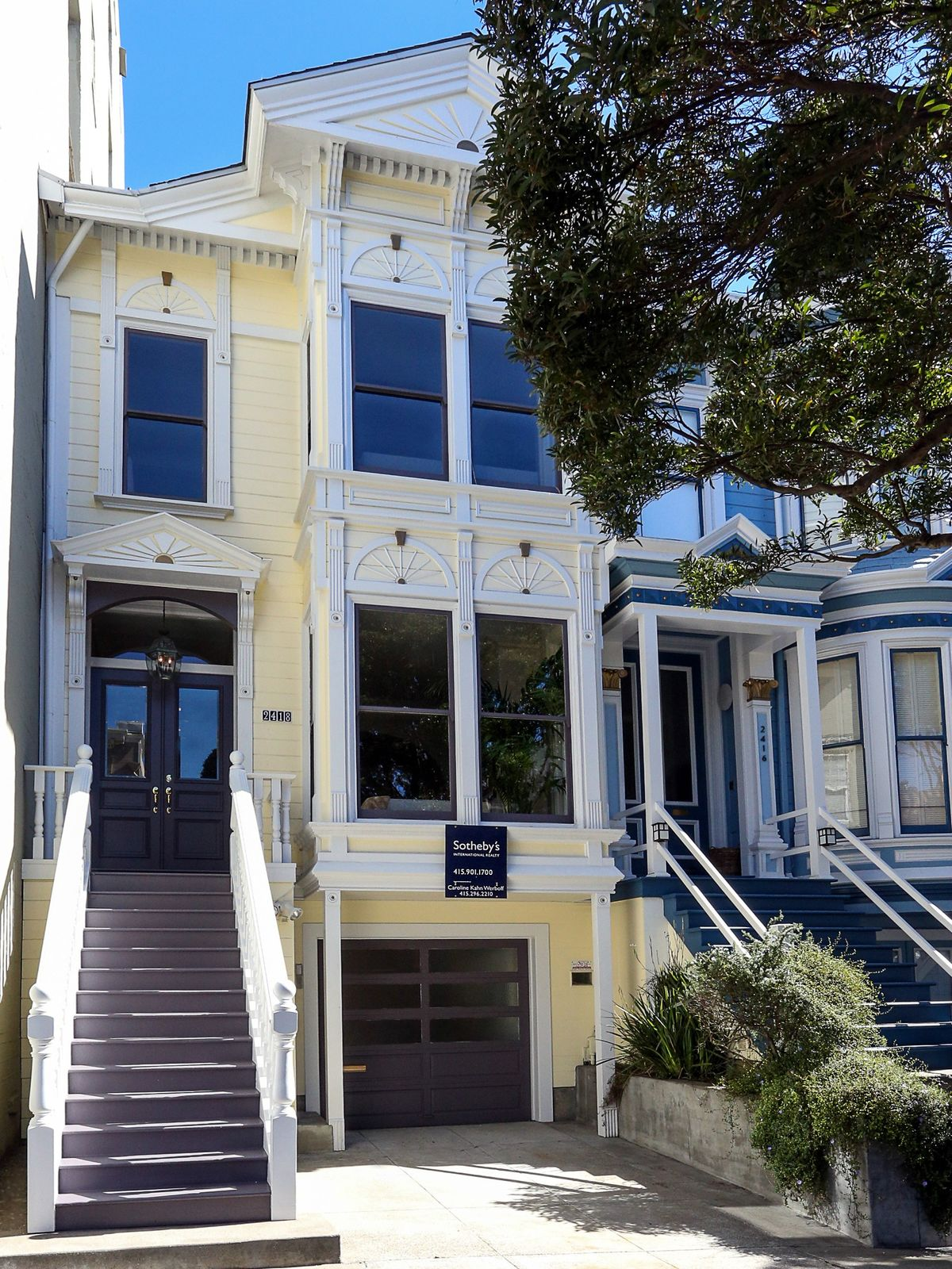 Pacific Heights Victorian, San Francisco CA Single Family Home - San Francisco Real Estate
