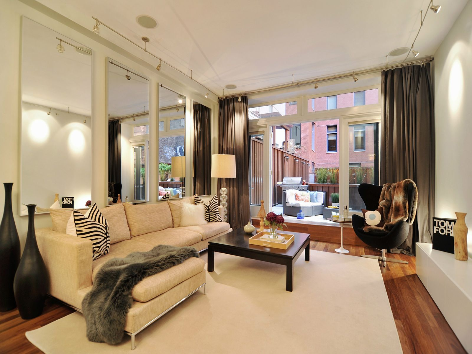 Indoor/Outdoor Living In Tribeca, New York NY Condominium - New York City Real Estate