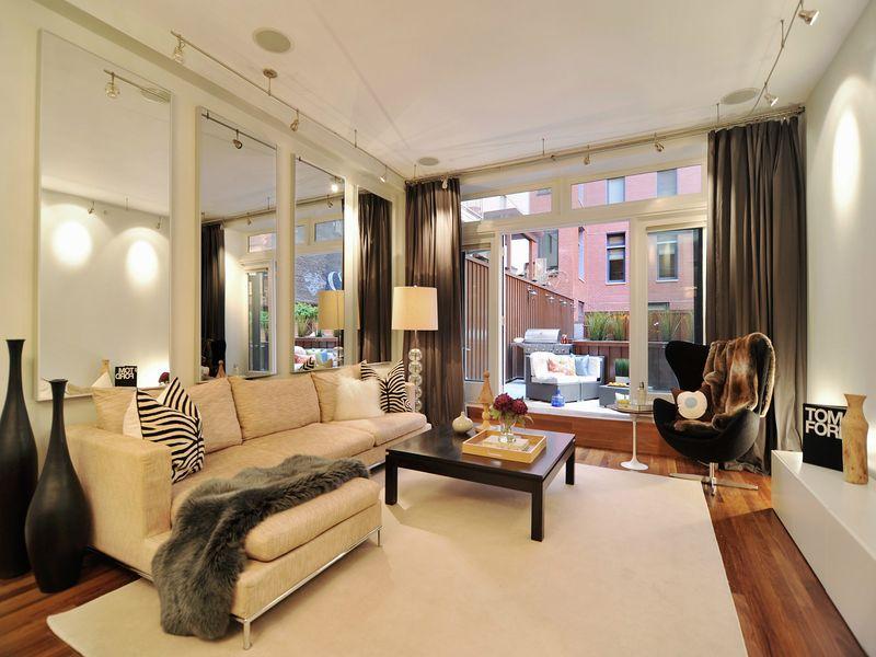 Indoor/Outdoor Living In Tribeca