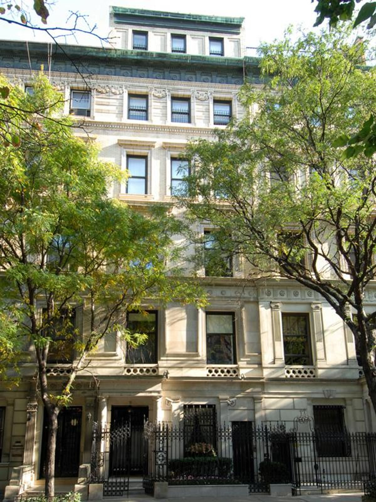 Limestone Mansion steps from 5th Avenue , New York NY Townhouse - New York City Real Estate