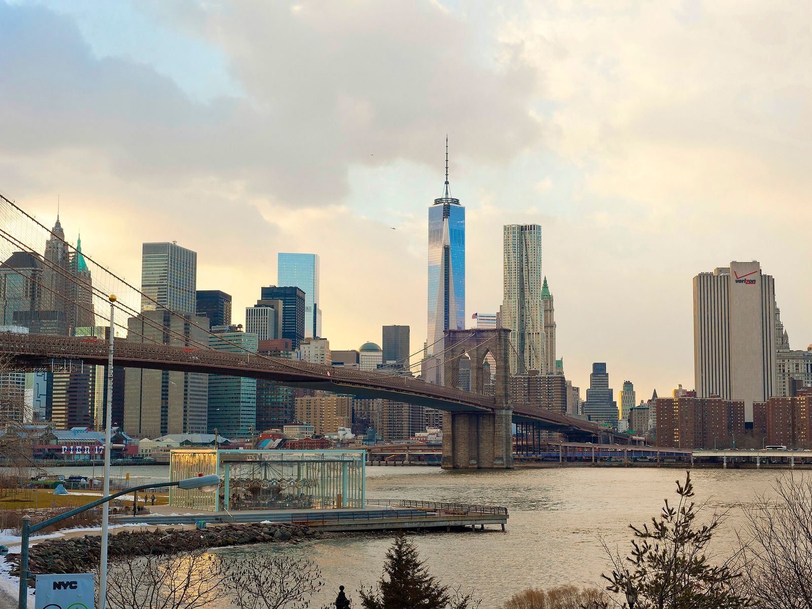 Stunning Park, River and Bridge Views