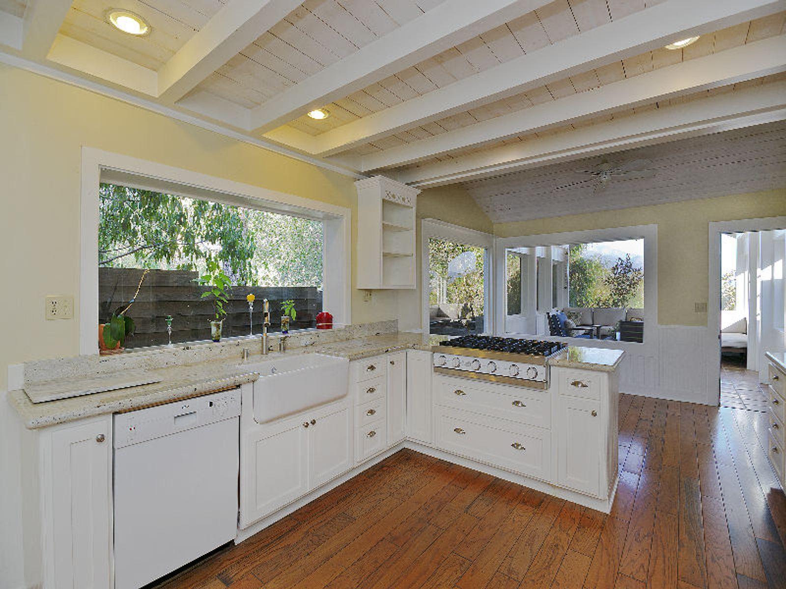 Kitchen View to Breakfast Area