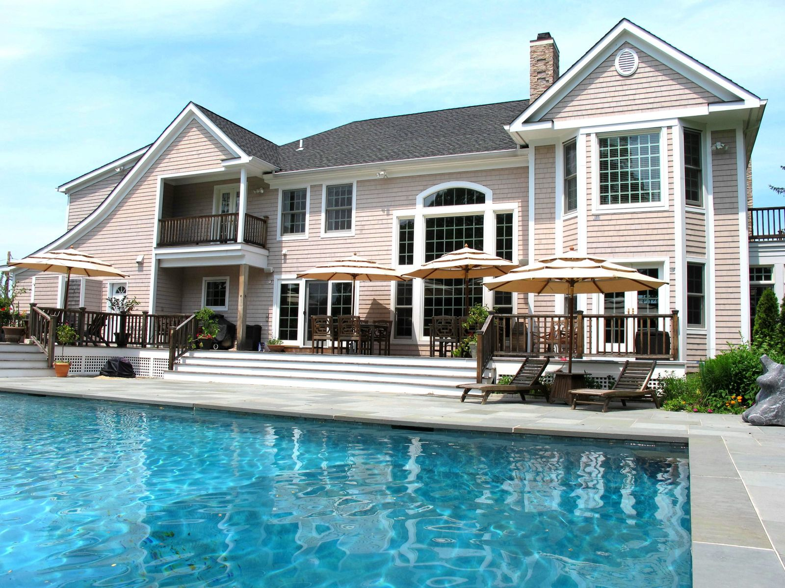 Newly Constructed with Waterviews , Southampton NY Single Family Home - Hamptons Real Estate