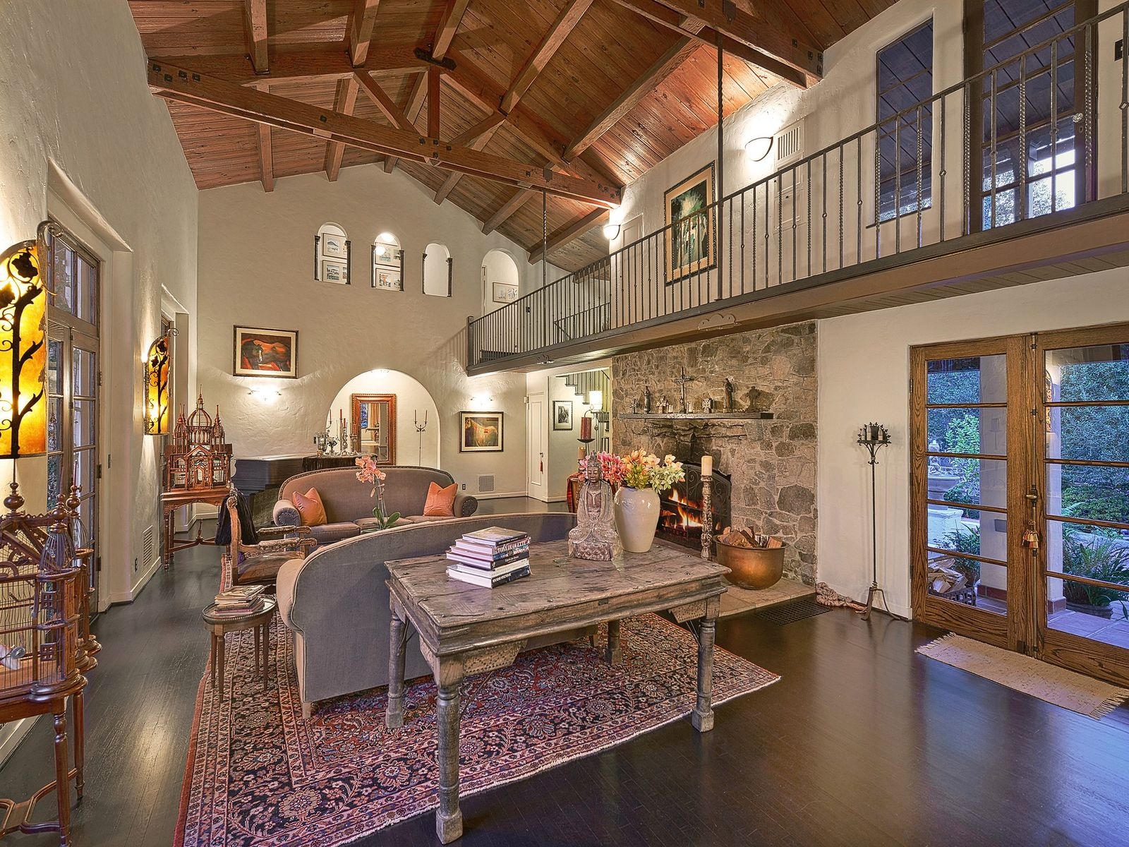 Spanish Colonial Revival Villa, Pebble Beach CA Single Family Home - Monterey Real Estate
