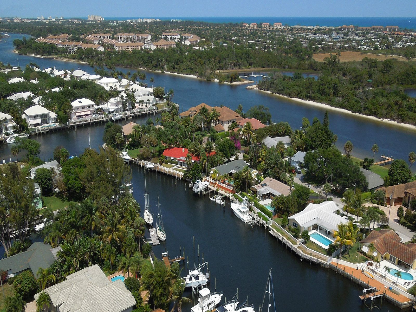 Exceptional Waterfront, West Palm Beach FL Single Family Home - Palm Beach Real Estate