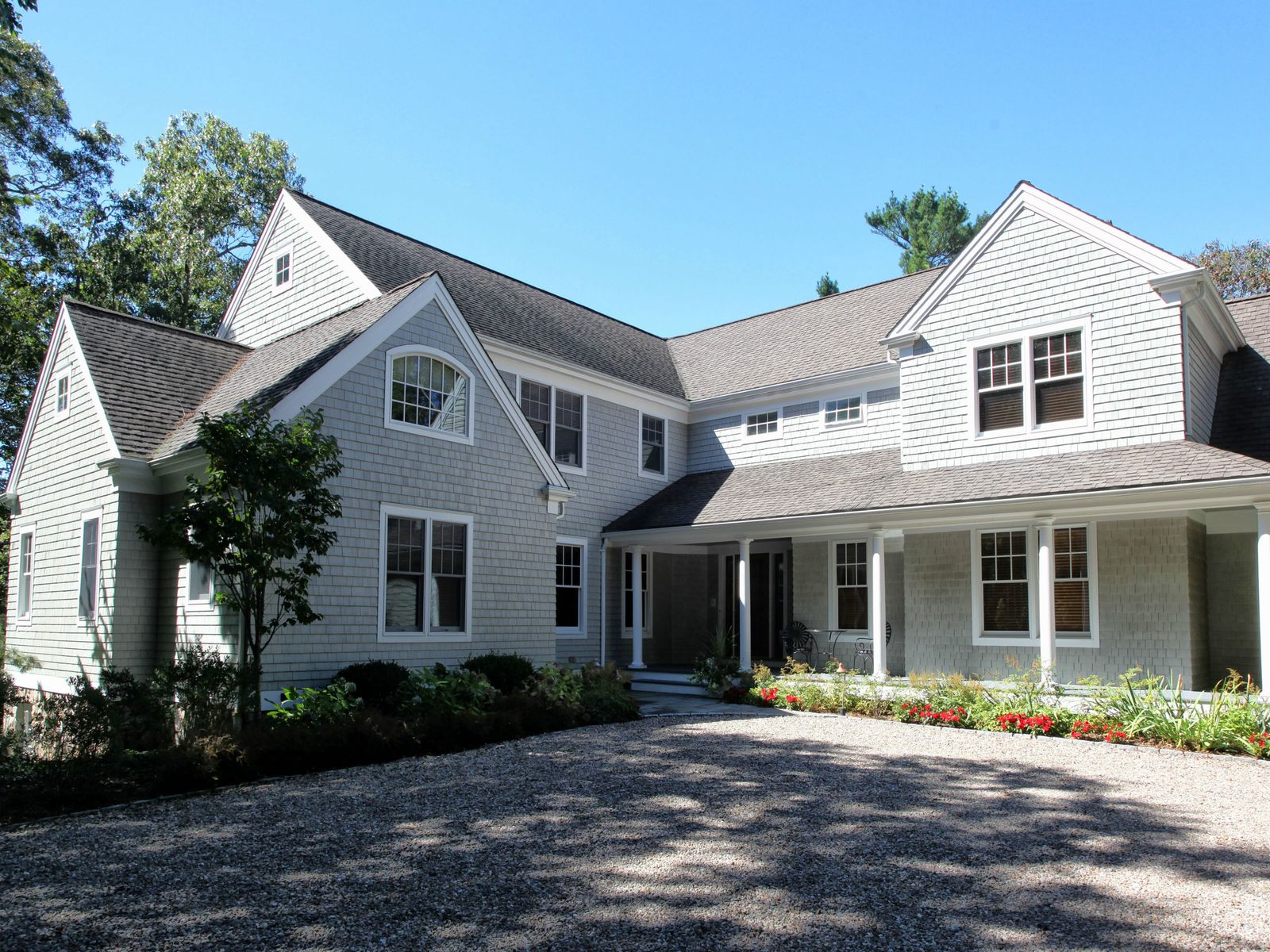 Custom Built Waterview Home in Quissett, Falmouth MA Single Family Home - Cape Cod Real Estate