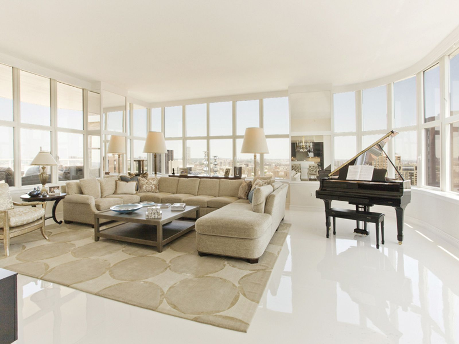 4 Bedrm Penthouse with Dramatic Terrace, New York NY Condominium - New York City Real Estate