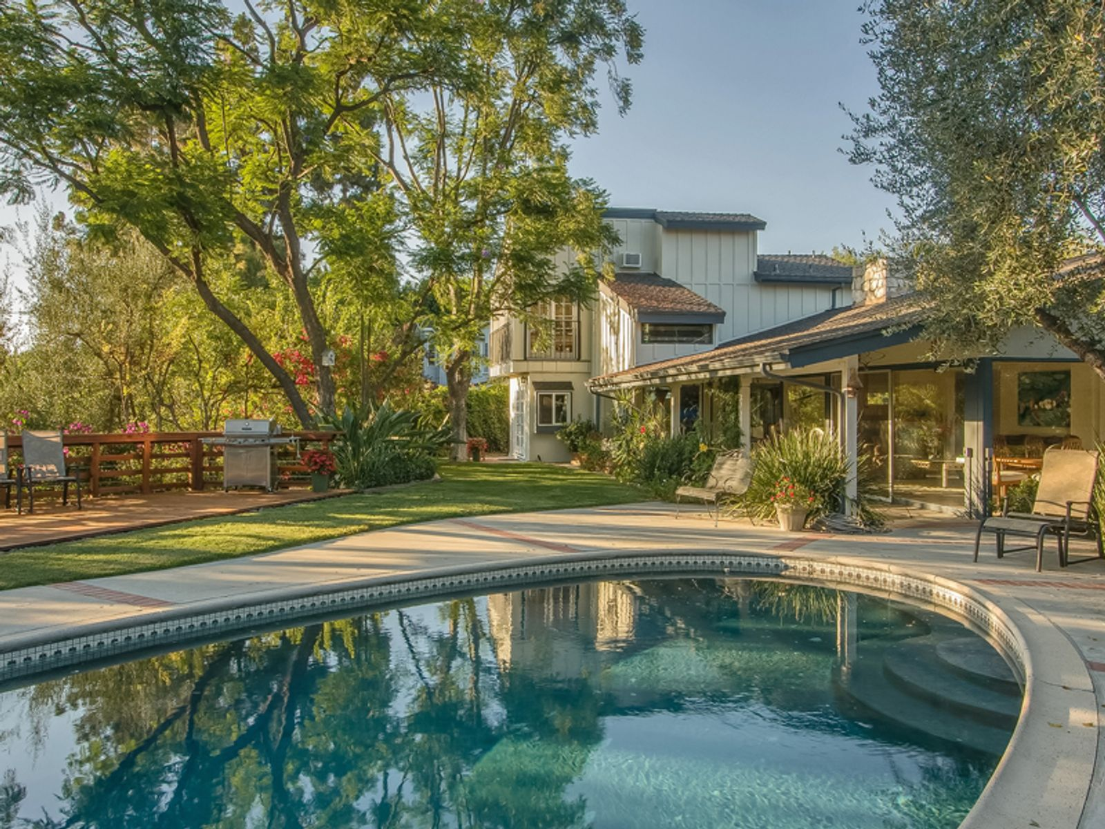 Serene Bel Air Home with Views, Los Angeles CA Single Family Home - Los Angeles Real Estate