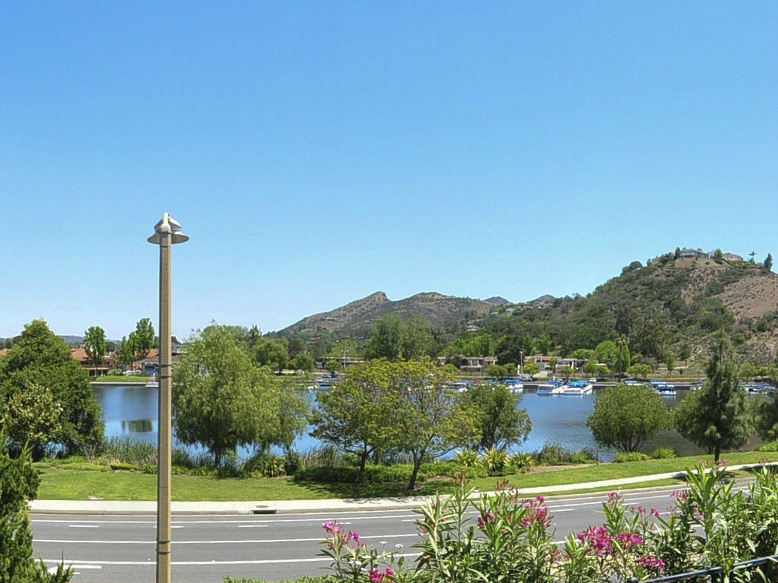Dramatic Lake Views