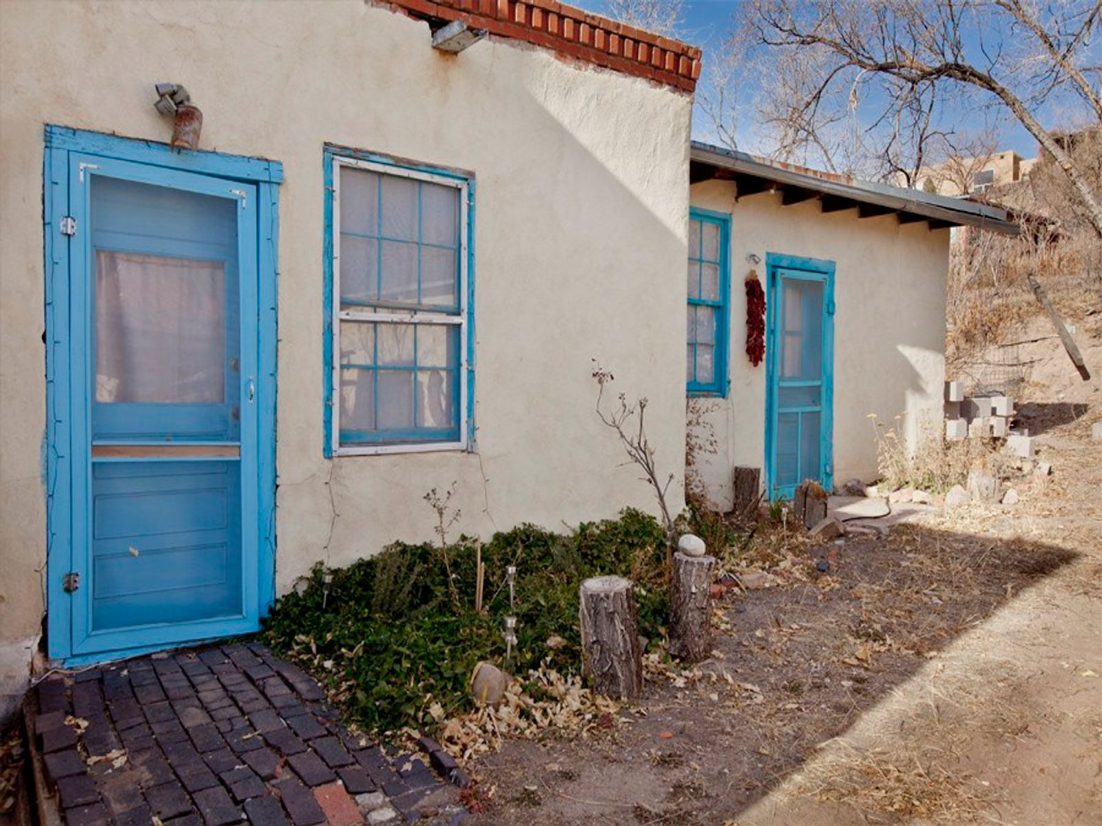 645 1/2 Palace Avenue, Santa Fe NM Single Family Home - Santa Fe Real Estate