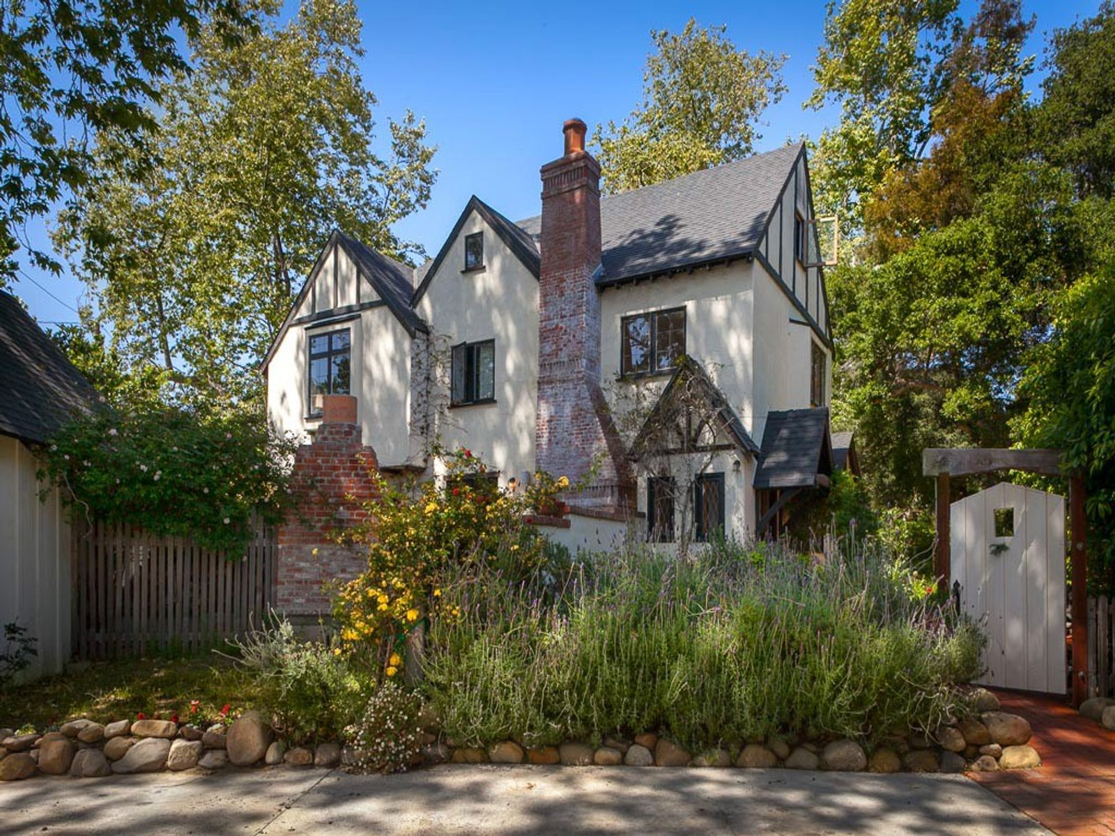 Creekside Montecito Tudor, Montecito CA Single Family Home - Santa Barbara Real Estate