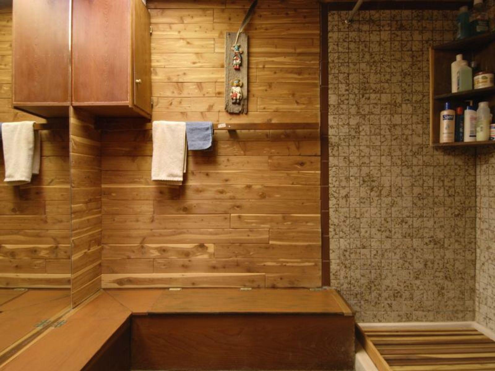 Japanese Master bath upstairs