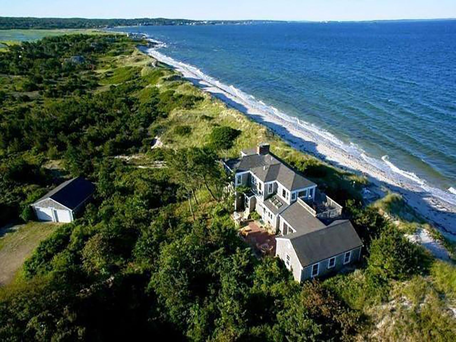 Private Oceanfront Residence, West Falmouth MA Single Family Home - Cape Cod Real Estate