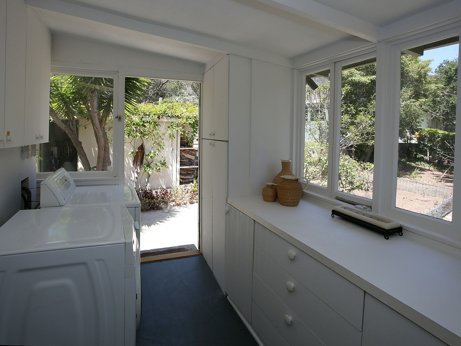 Laundry Room and Herb Garden