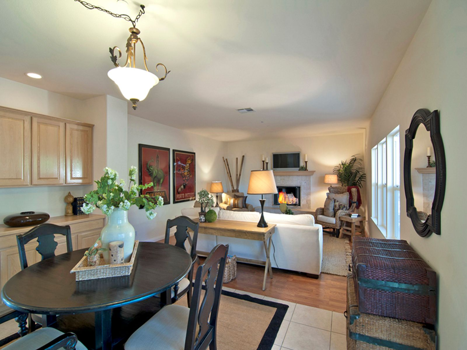 Kitchenette and Family Room