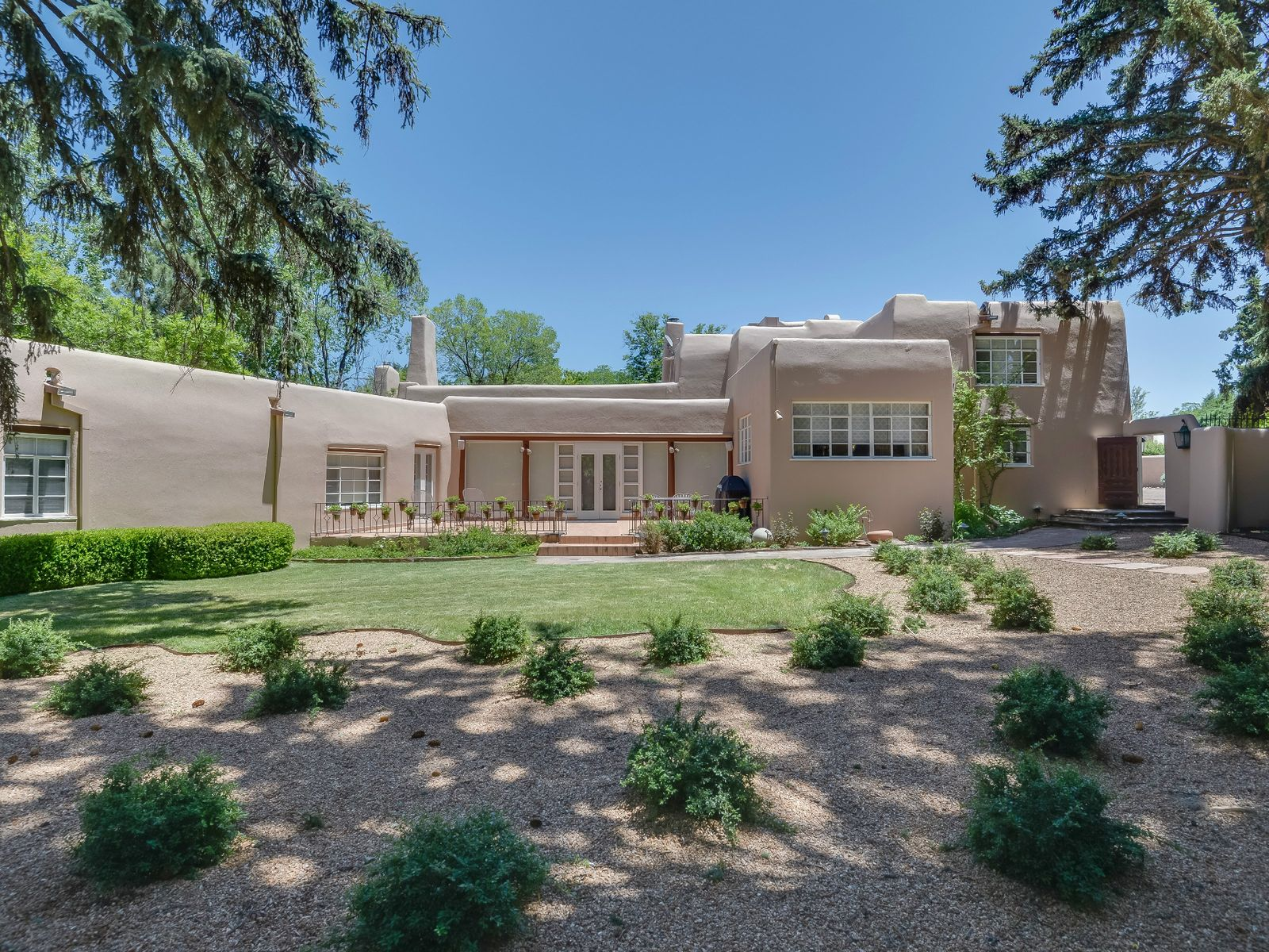 461 and 465 Camino De Las Animas, Santa Fe NM Single Family Home - Santa Fe Real Estate