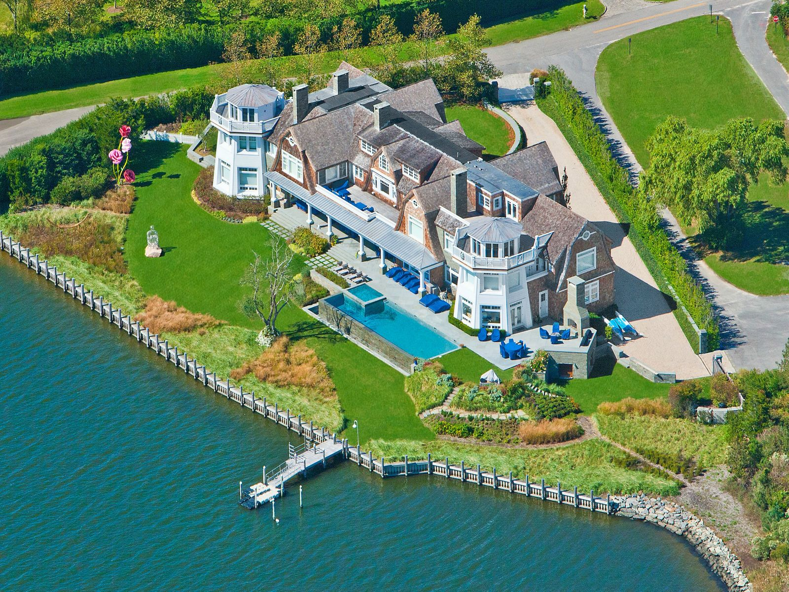 Rose Hill Point - August Rental , Water Mill NY Single Family Home - Hamptons Real Estate