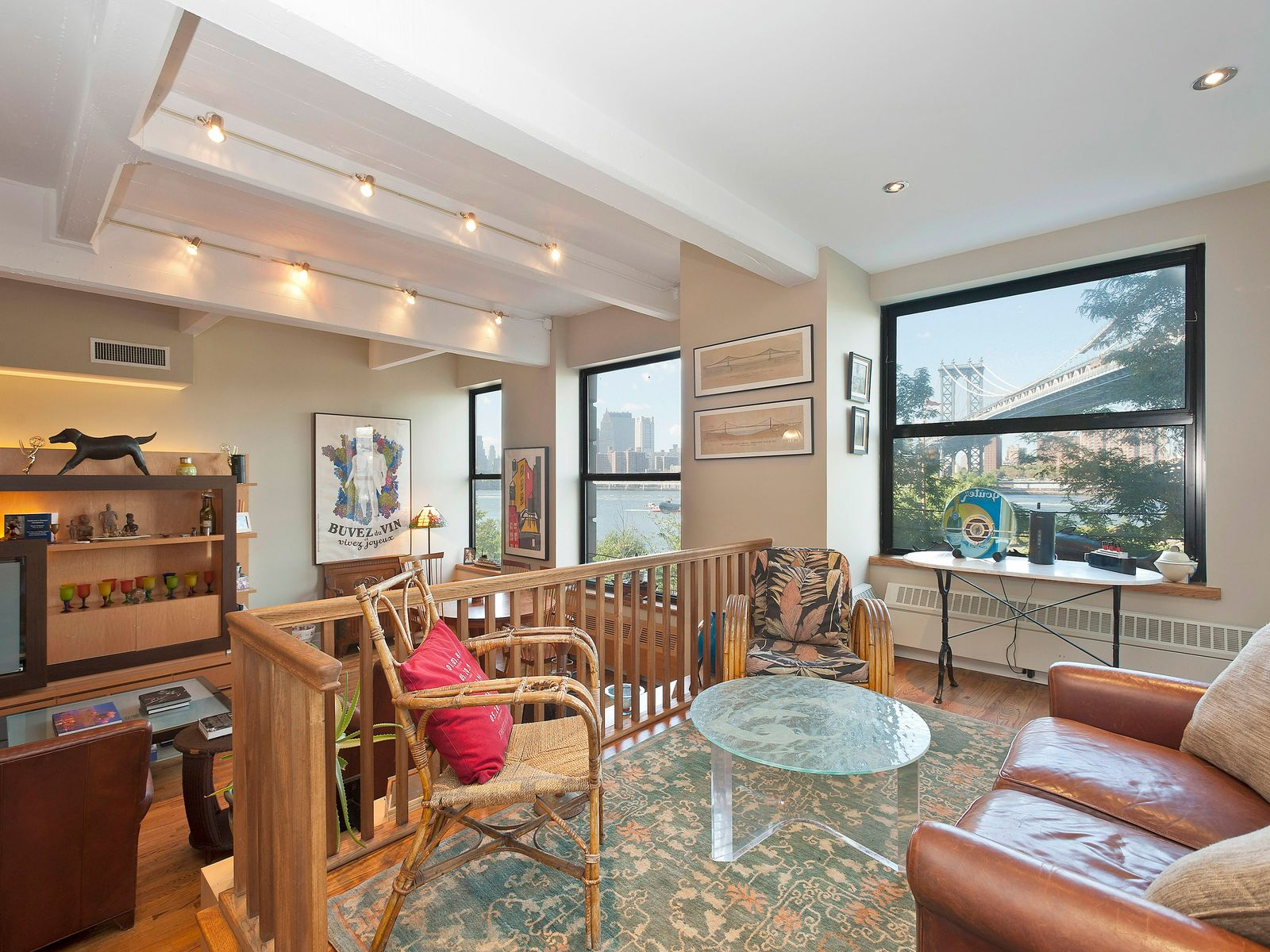 Sensational Corner Clocktower Loft