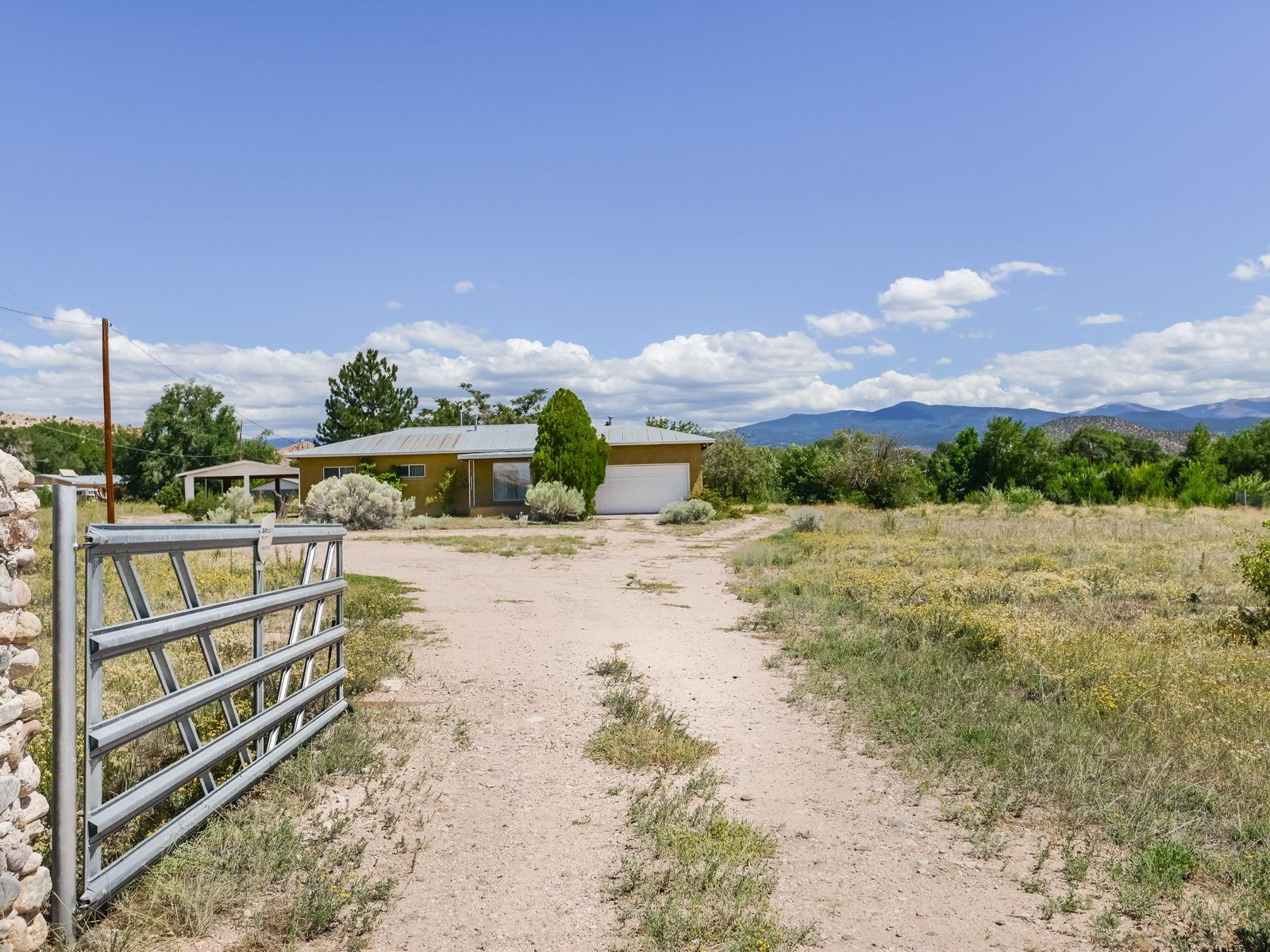 188 County Road 92, Chimayo NM Single Family Home - Santa Fe Real Estate