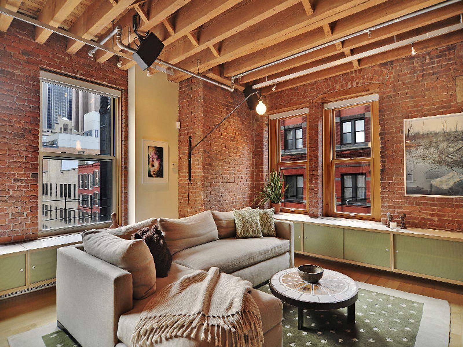 Authentic Loft Perfected in Tribeca