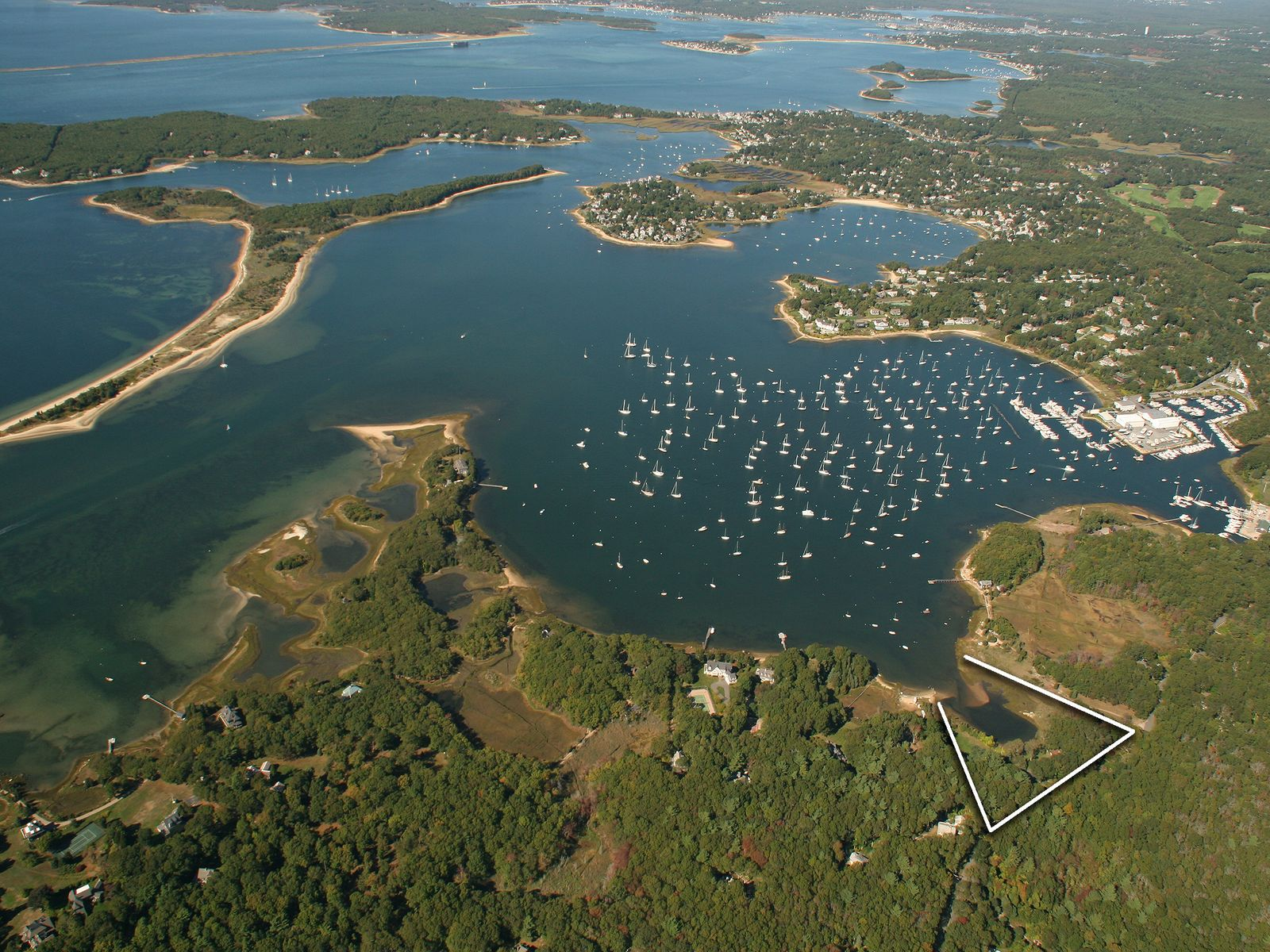 Rare Waterfront Offering with Acreage, Bourne MA Single Family Home - Cape Cod Real Estate