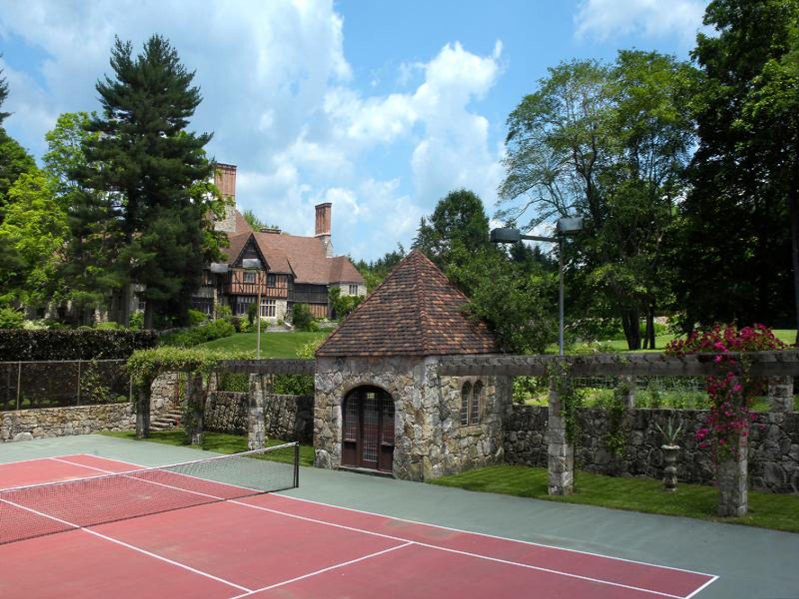 Tennis Court & Pavillion