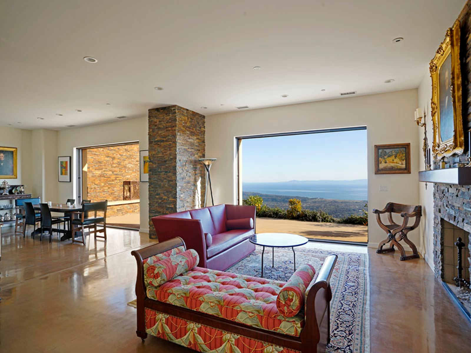 Magnificent Mountaintop Retreat , Santa Barbara CA Single Family Home - Santa Barbara Real Estate