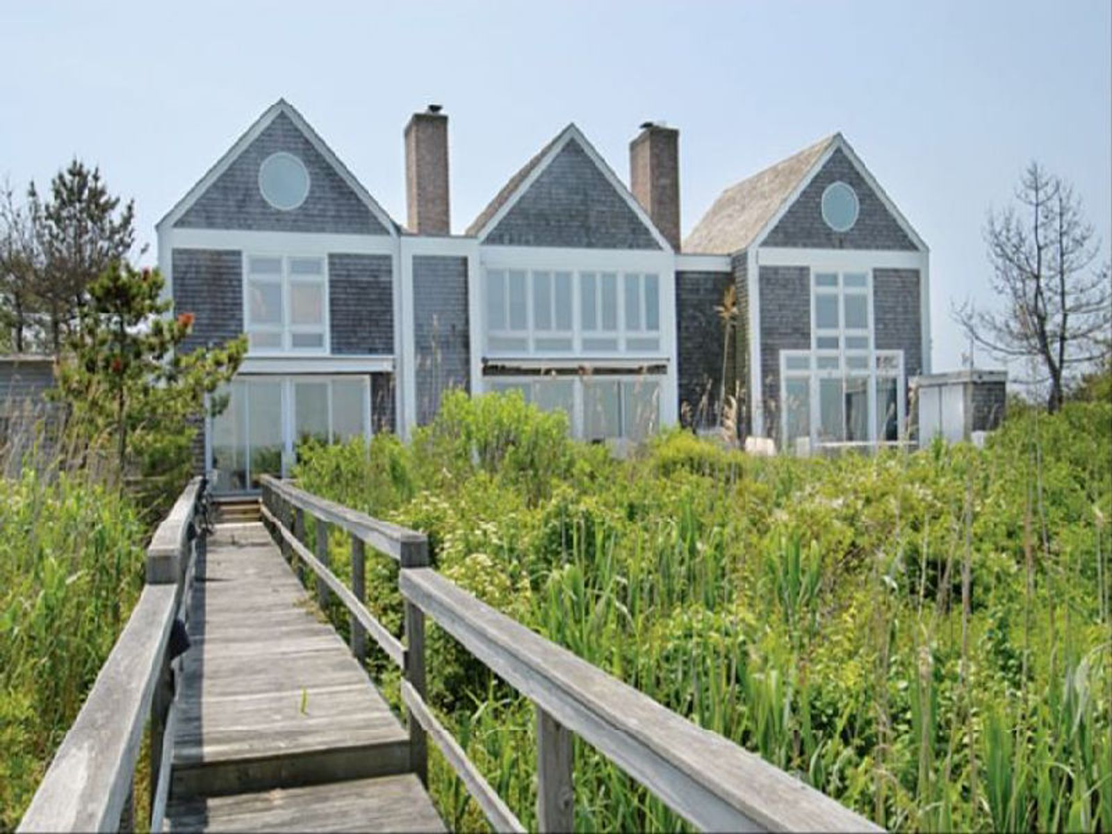 Mecox Bay Across To Ocean, Bridgehampton NY Single Family Home - Hamptons Real Estate