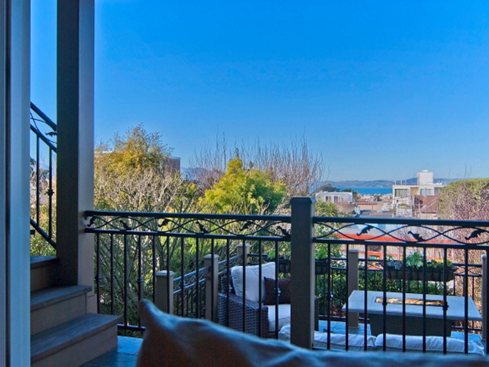Contemporary Condominium with Bay Views