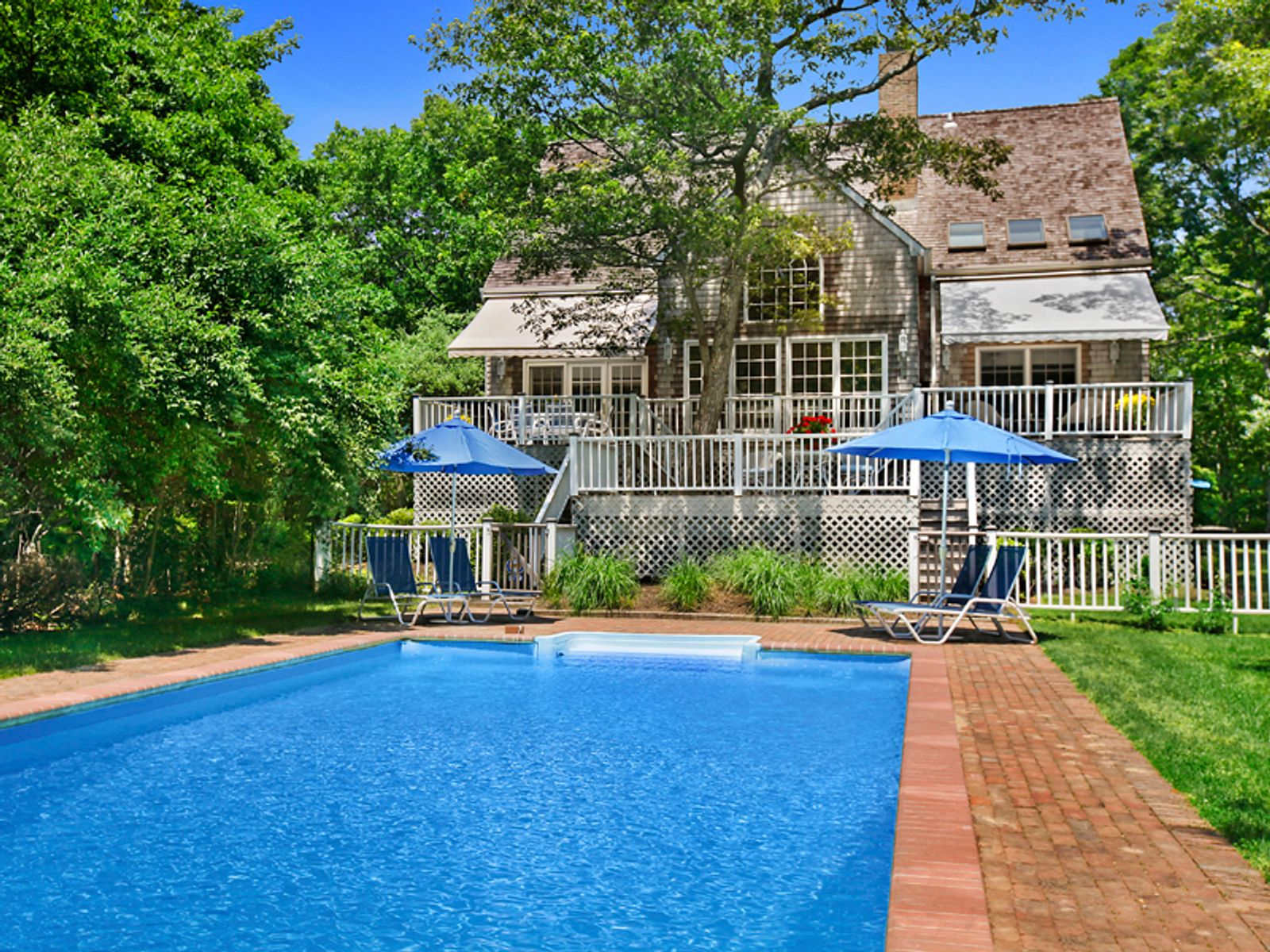 Private 3 Acre Retreat, Great Location, Sag Harbor NY Single Family Home - Hamptons Real Estate