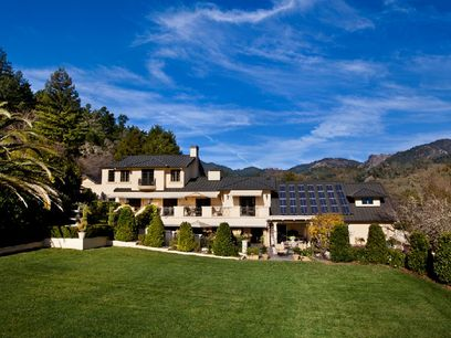 Pristine Upper Valley Estate, Calistoga CA Single Family Home - Sonoma Real Estate