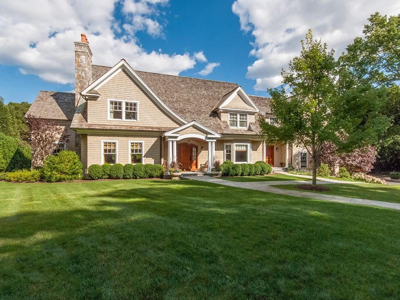 Stunning Stone and Shingle Colonial