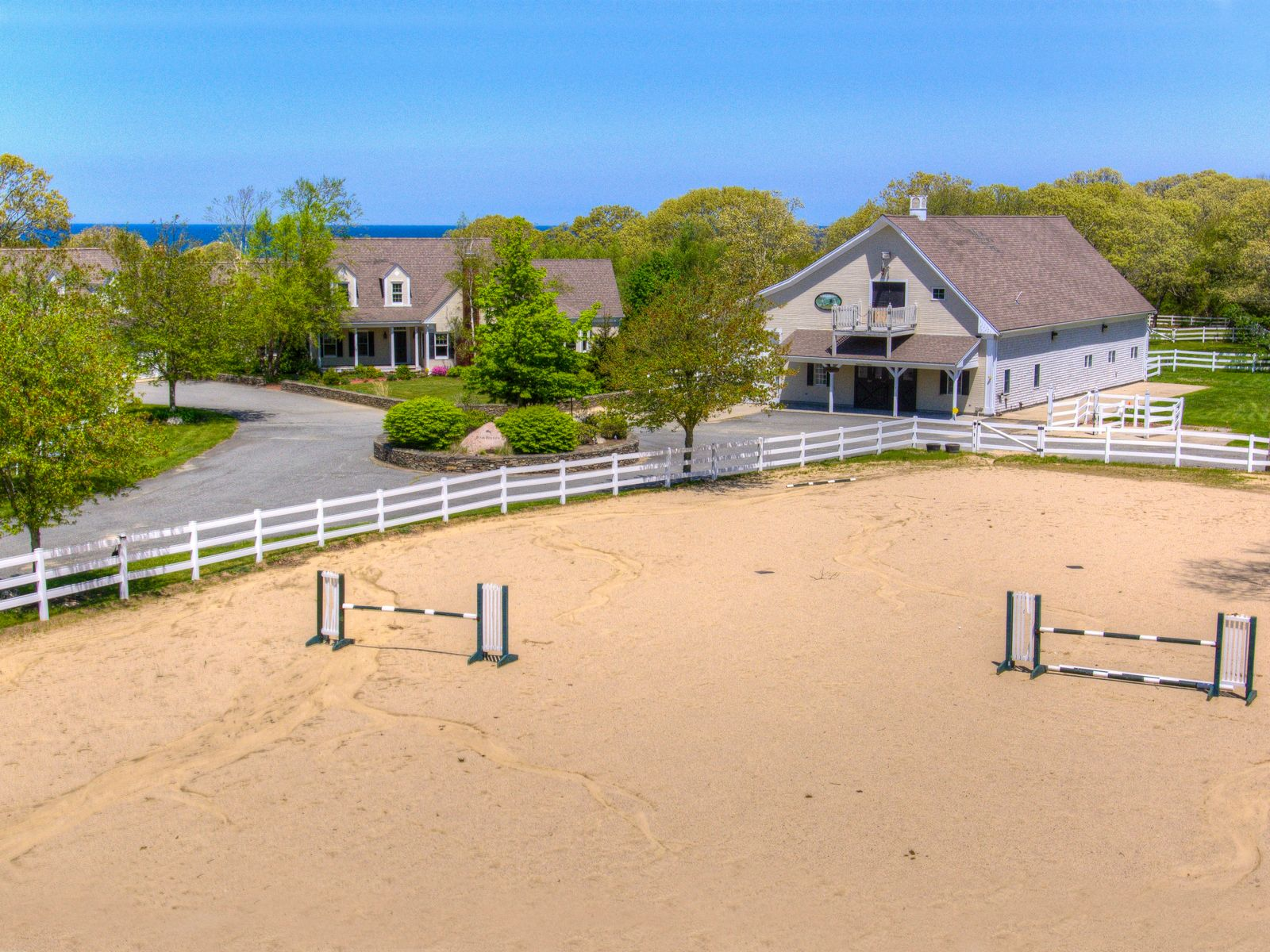Ocean View Horse Farm, East Sandwich MA Single Family Home - Cape Cod Real Estate