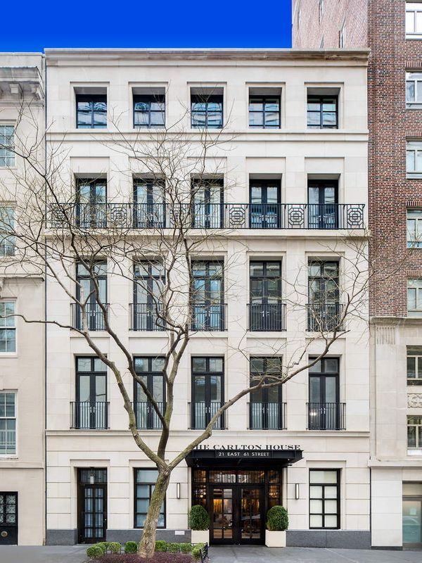 Single Family Home for Sale at The Carlton House Mansion, 19 East 61st Street 19 East 61st Street New York, New York 10065 United States