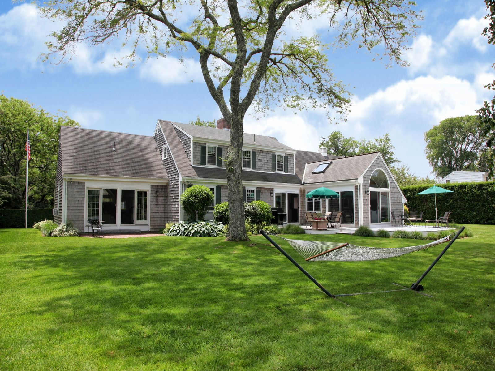 In-Town Privacy and Elegance, Falmouth MA Single Family Home - Cape Cod Real Estate
