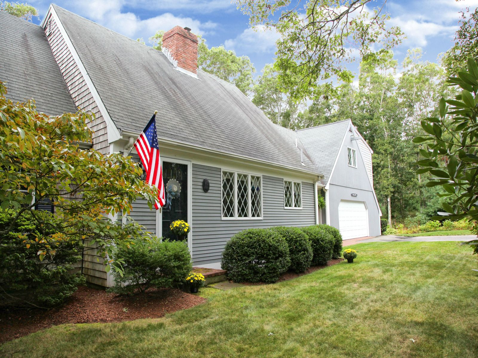 Cape Offers Privacy and Guest Quarters, East Sandwich MA Single Family Home - Cape Cod Real Estate