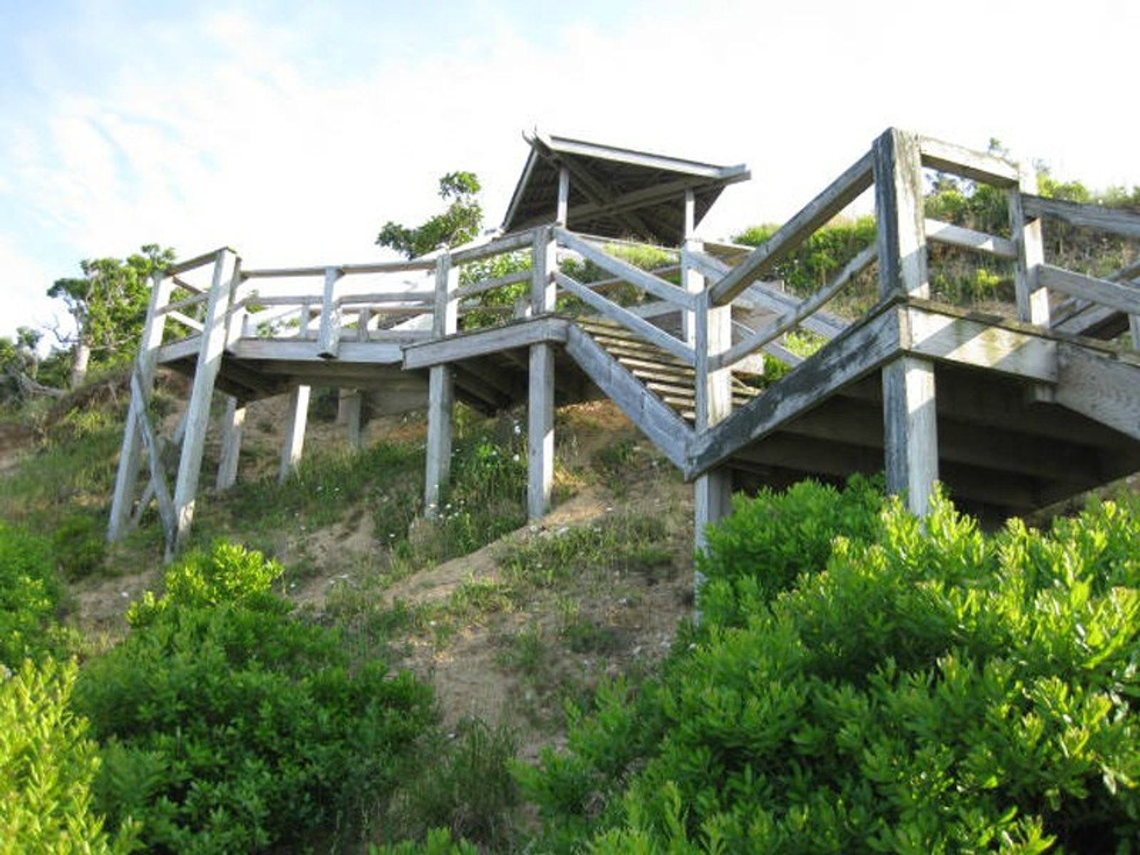 Staircase to Your Own Sandy Beach