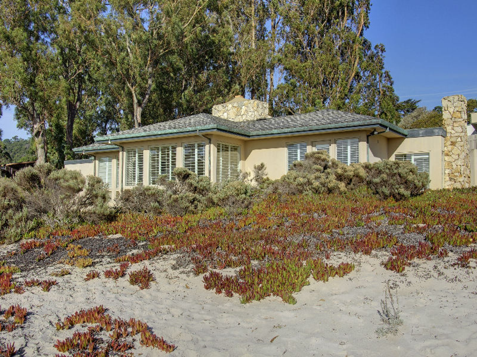On the Sand of Carmel Beach, Carmel CA Single Family Home - Monterey Real Estate