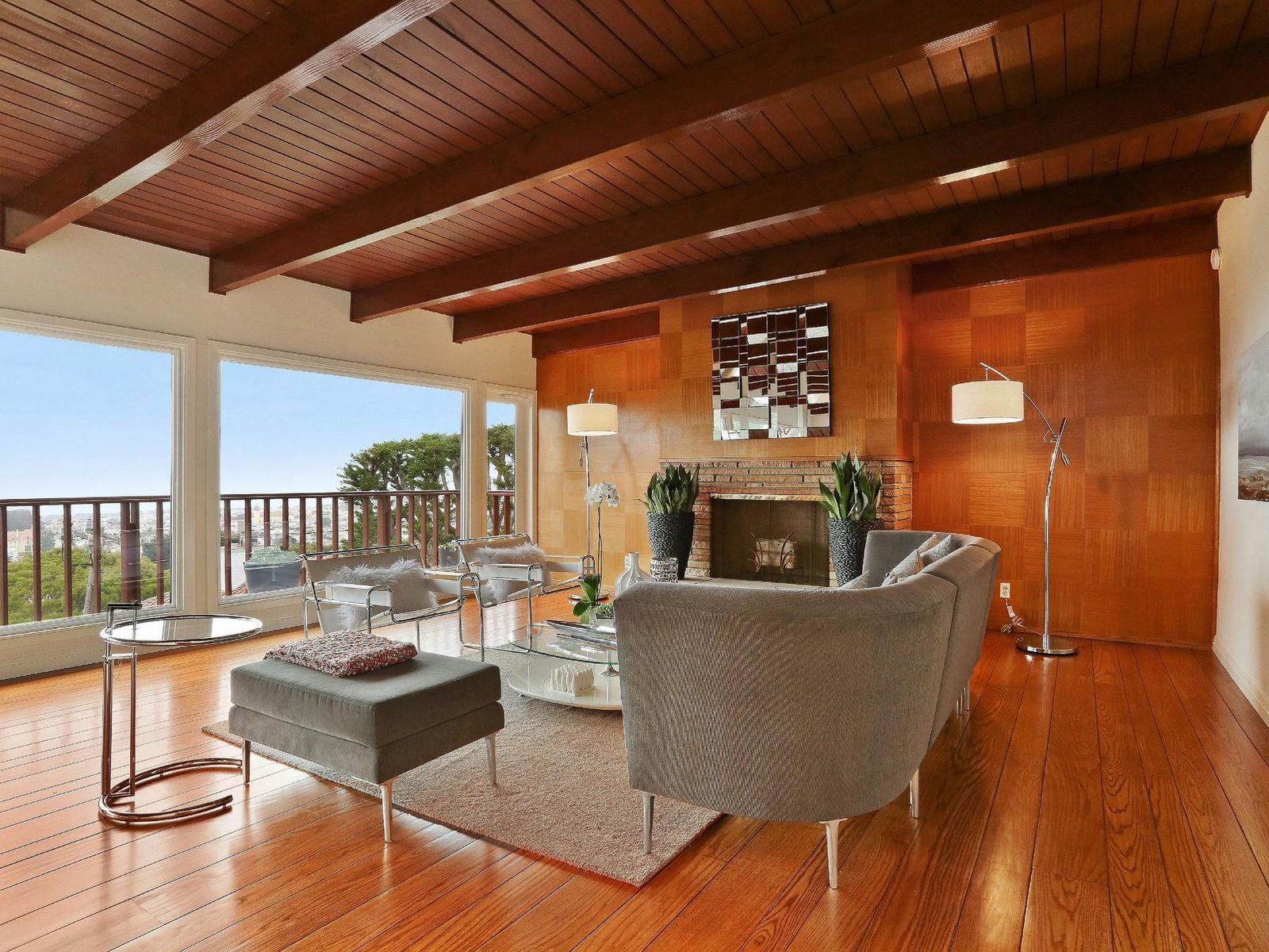 Gorgeous Mid-Century View Home, San Francisco CA Single Family Home - San Francisco Real Estate