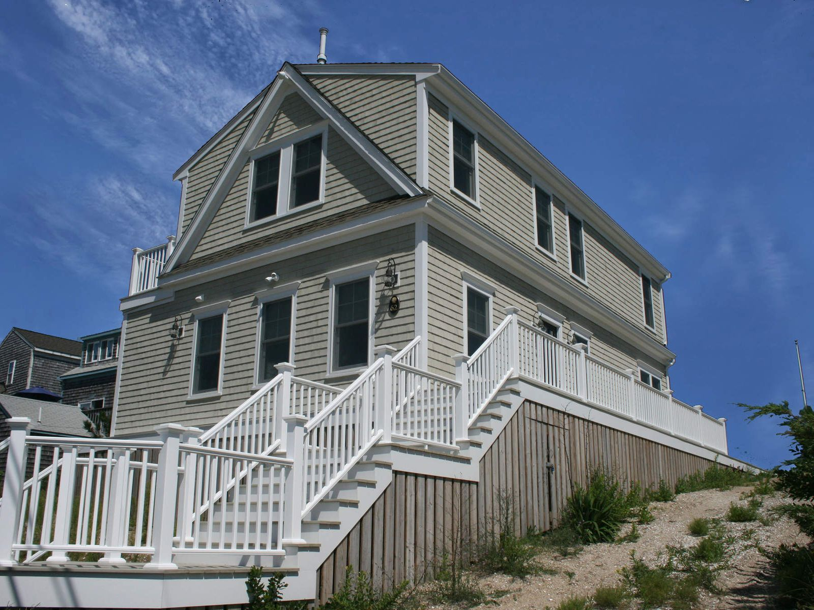 Beachfront on Private Spring Hill, East Sandwich MA Single Family Home - Cape Cod Real Estate