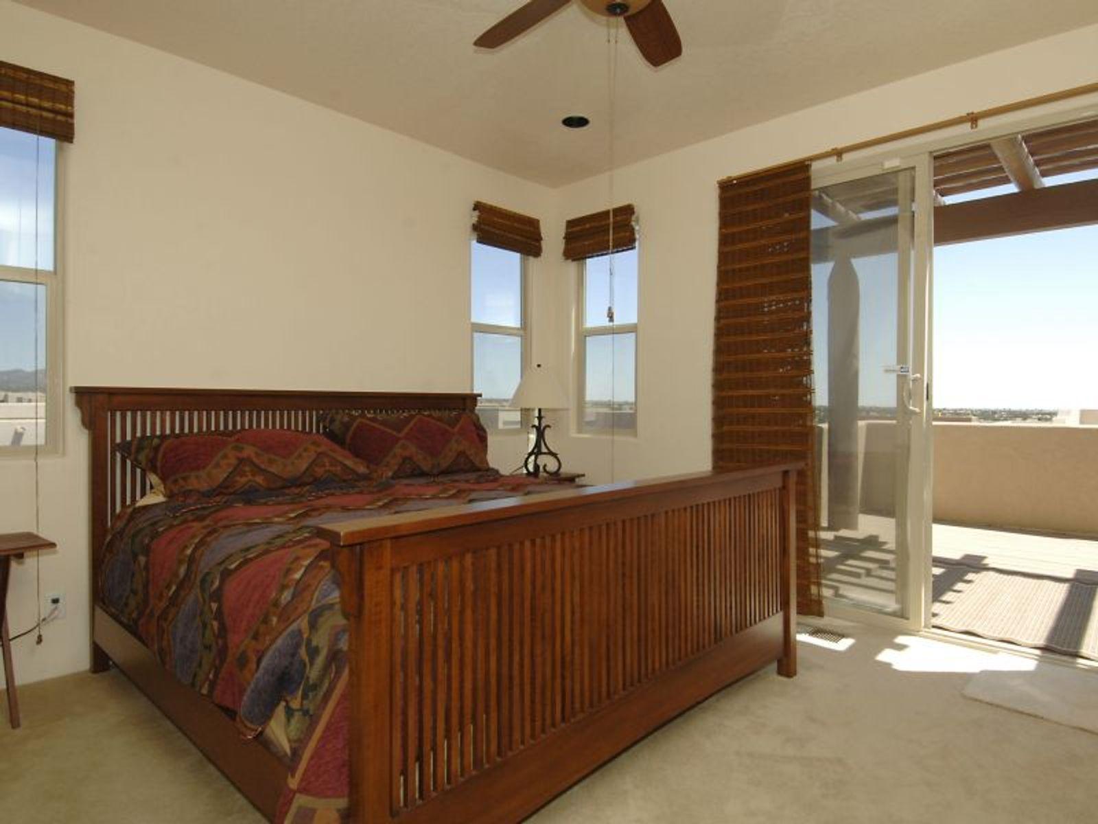 Master Bedroom featuring Balcony