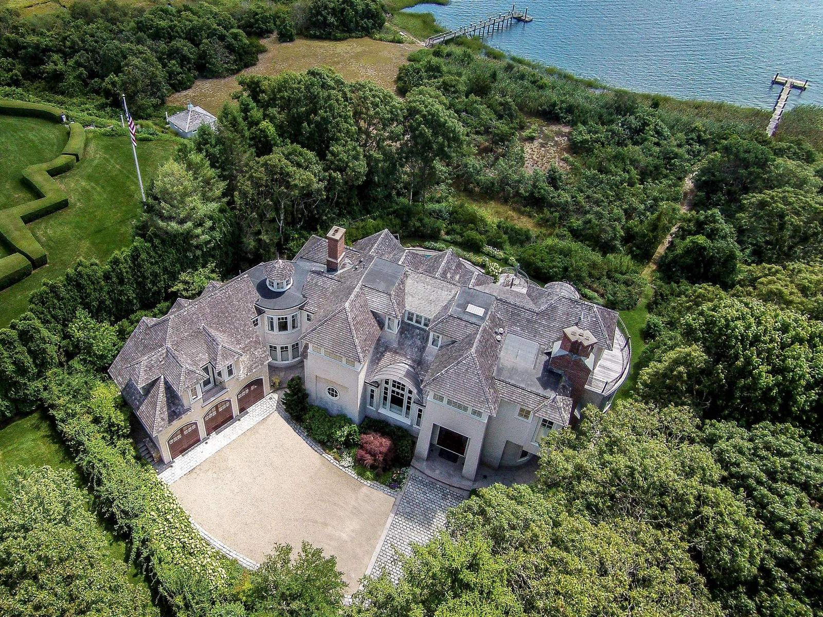 Private & Contemporary Oceanfront Estate, Osterville MA Single Family Home - Cape Cod Real Estate