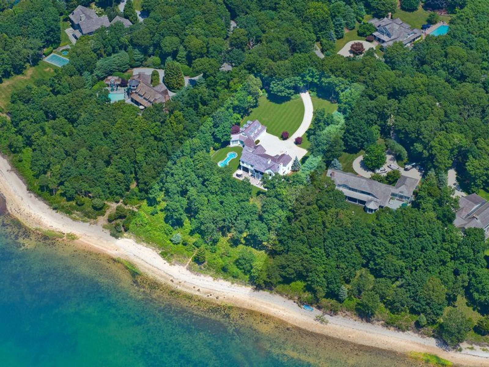 Magnificent Waterfront Estate, East Hampton NY Single Family Home - Hamptons Real Estate