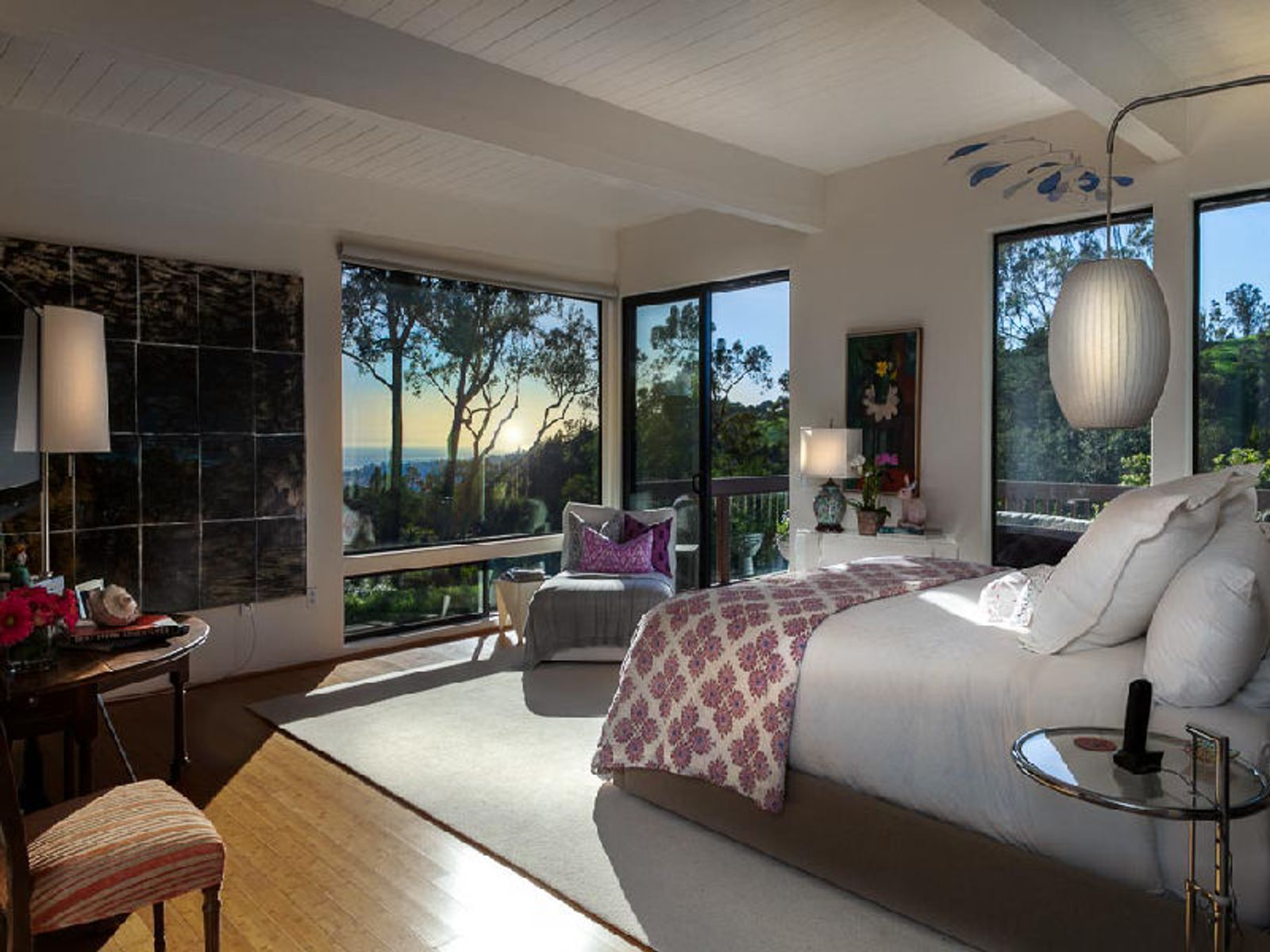 Master Bedroom with View of the Ocean