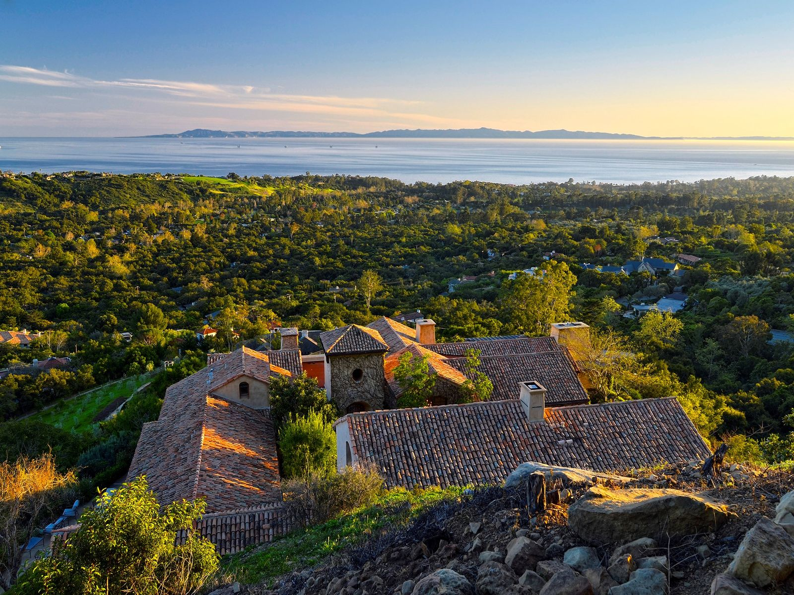Ocean View Estate, Santa Barbara CA Single Family Home - Santa Barbara Real Estate