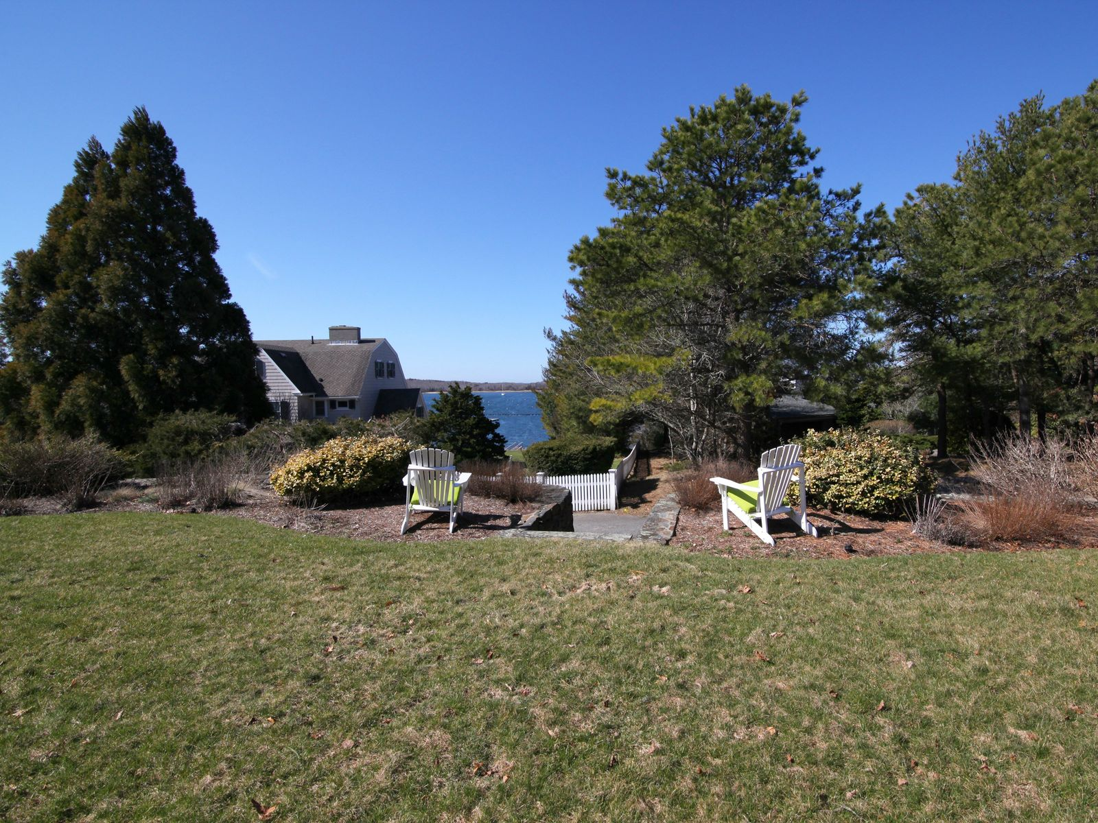 Cape Cod Compound Overlooking Harbor