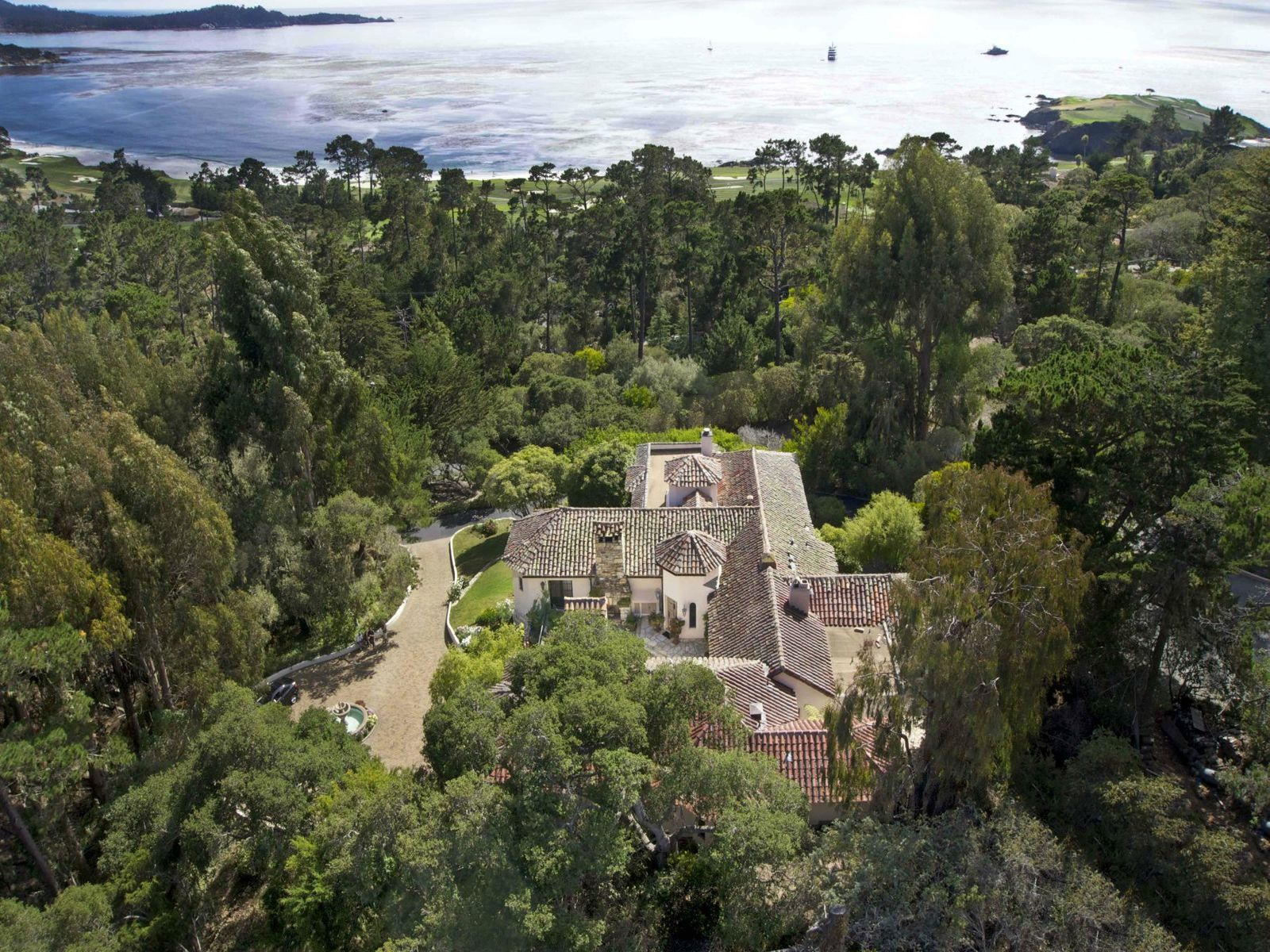 The Four Winds of Heaven, Pebble Beach CA Single Family Home - Monterey Real Estate